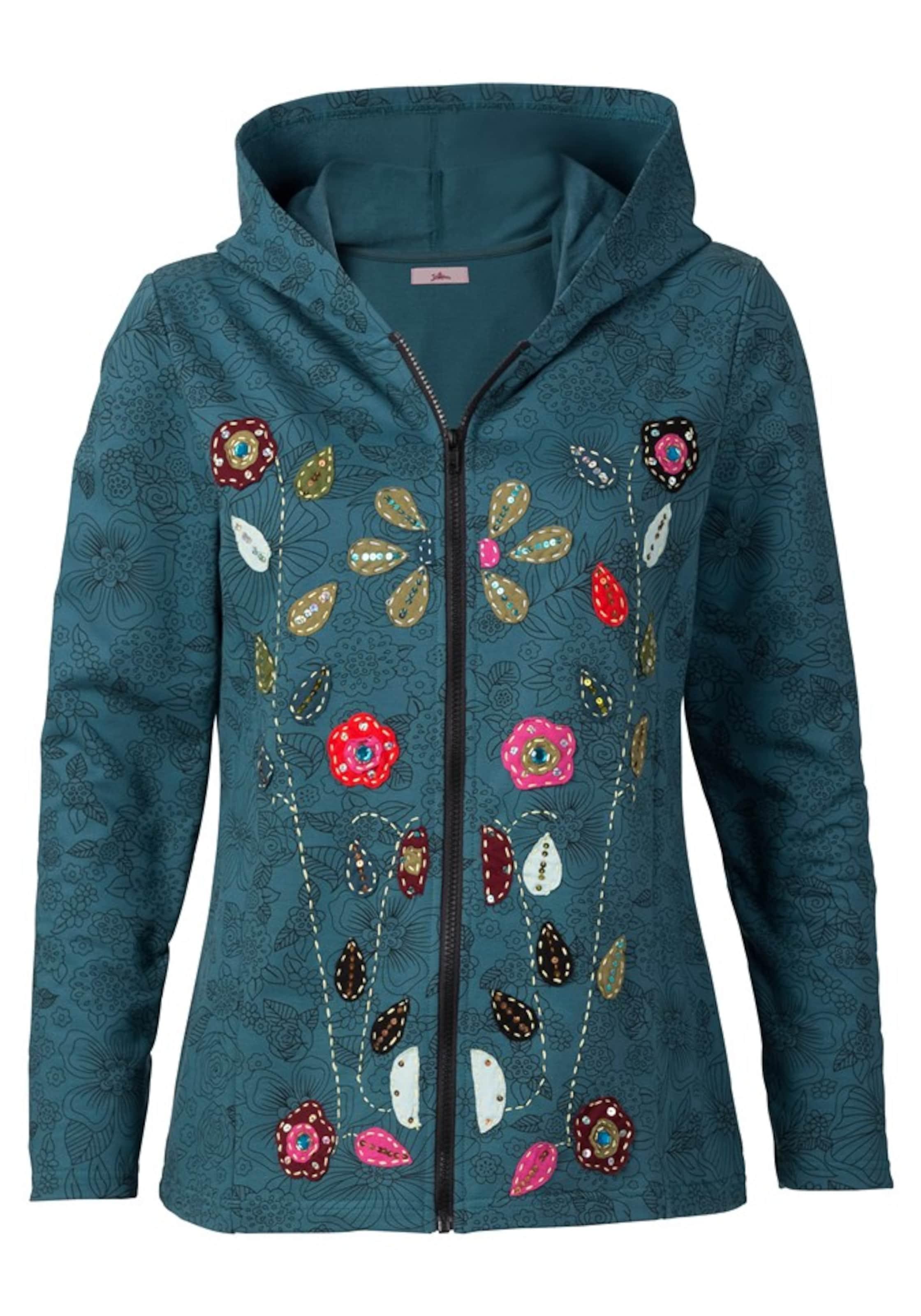 JOE BROWNS Veste de survêtement en pétrole mélange de couleurs 2019 nouveaux produits 612303519 Vêtements Femme ZG1I5LY