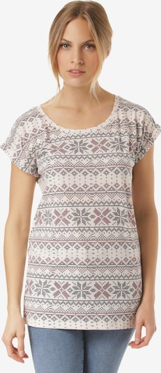 Lakeville Mountain T-Shirt 'Manda' in weiß, Produktansicht