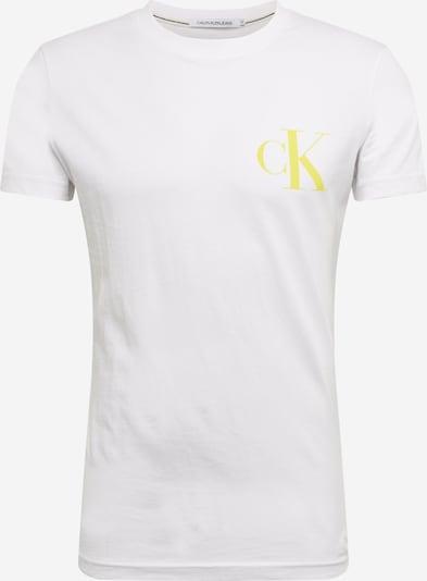Calvin Klein Jeans Shirt 'INSTIT' in weiß, Produktansicht
