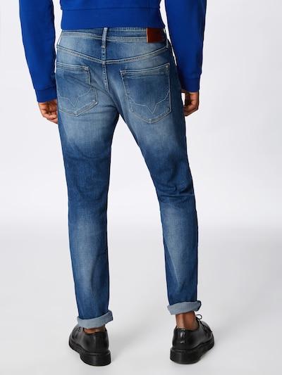 Pepe Jeans Jeans 'STANLEY' in blue denim: Rückansicht