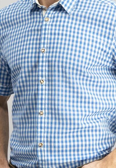 STOCKERPOINT Hemd 'Connor' in blau / weiß, Produktansicht