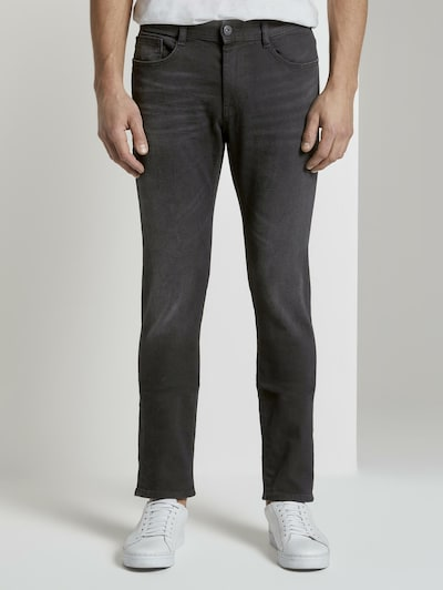 TOM TAILOR Jeanshosen Josh Regular Slim Jeans in schwarz, Modelansicht