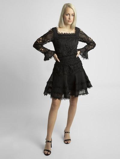 APART Partykleid mit Spitze in schwarz, Modelansicht