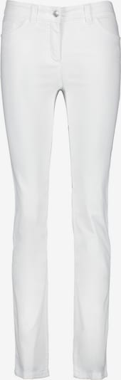GERRY WEBER Hose Jeans lang Figurformende Hose Best4me Kurzgröße in weiß, Produktansicht