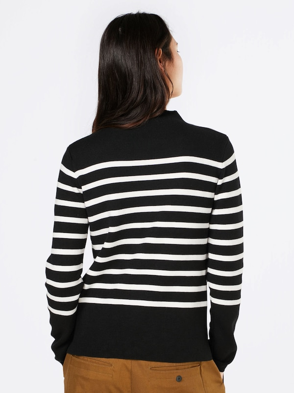 MORE & MORE High-Neck Pullover