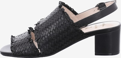 tizian Klassische Sandaletten in schwarz, Produktansicht