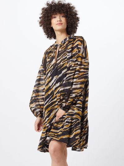 Gestuz Kleid 'CrisantaGZ OZ dress' in khaki / schwarz, Modelansicht