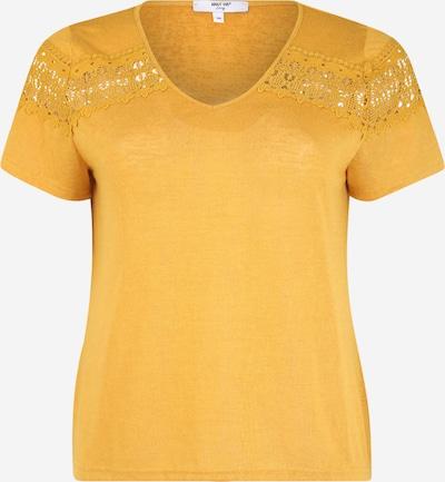 ABOUT YOU Curvy T-shirt 'Kimia' en jaune / moutarde, Vue avec produit