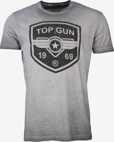 TOP GUN T-Shirt  ' Powerful ' in grau, Produktansicht