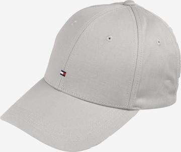 TOMMY HILFIGER Cap 'Classic' in Grau
