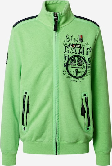 CAMP DAVID Sweatshirt in grün, Produktansicht