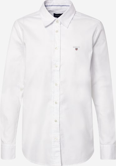 GANT Bluse 'STRETCH OXFORD SOLID' in weiß, Produktansicht