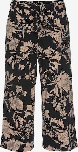 LASCANA Pantalon à pince en noir, Vue avec produit
