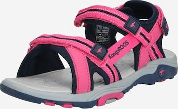 KangaROOS Sandale 'K-Leni' in Pink