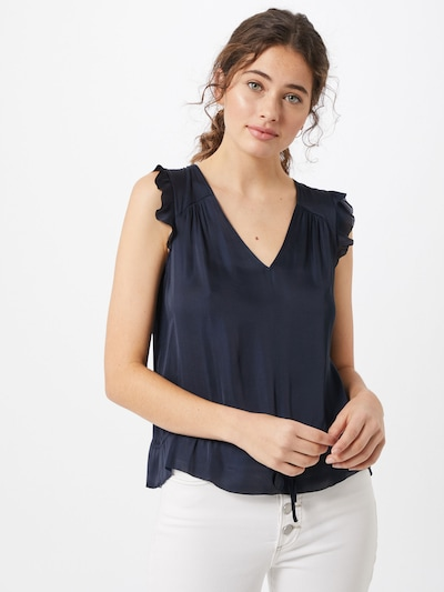 Banana Republic Bluse 'CINCHED' in navy, Modelansicht