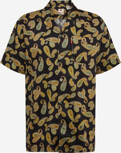 LEVI'S Hemd 'Cubano' in gold / schwarz, Produktansicht
