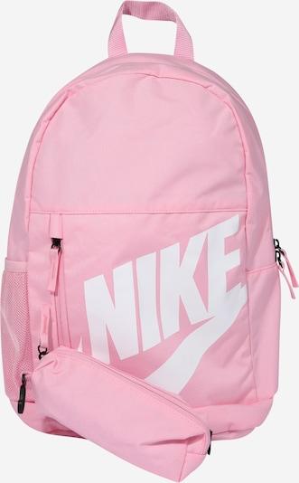 Nike Sportswear Rucksack in pink / weiß, Produktansicht