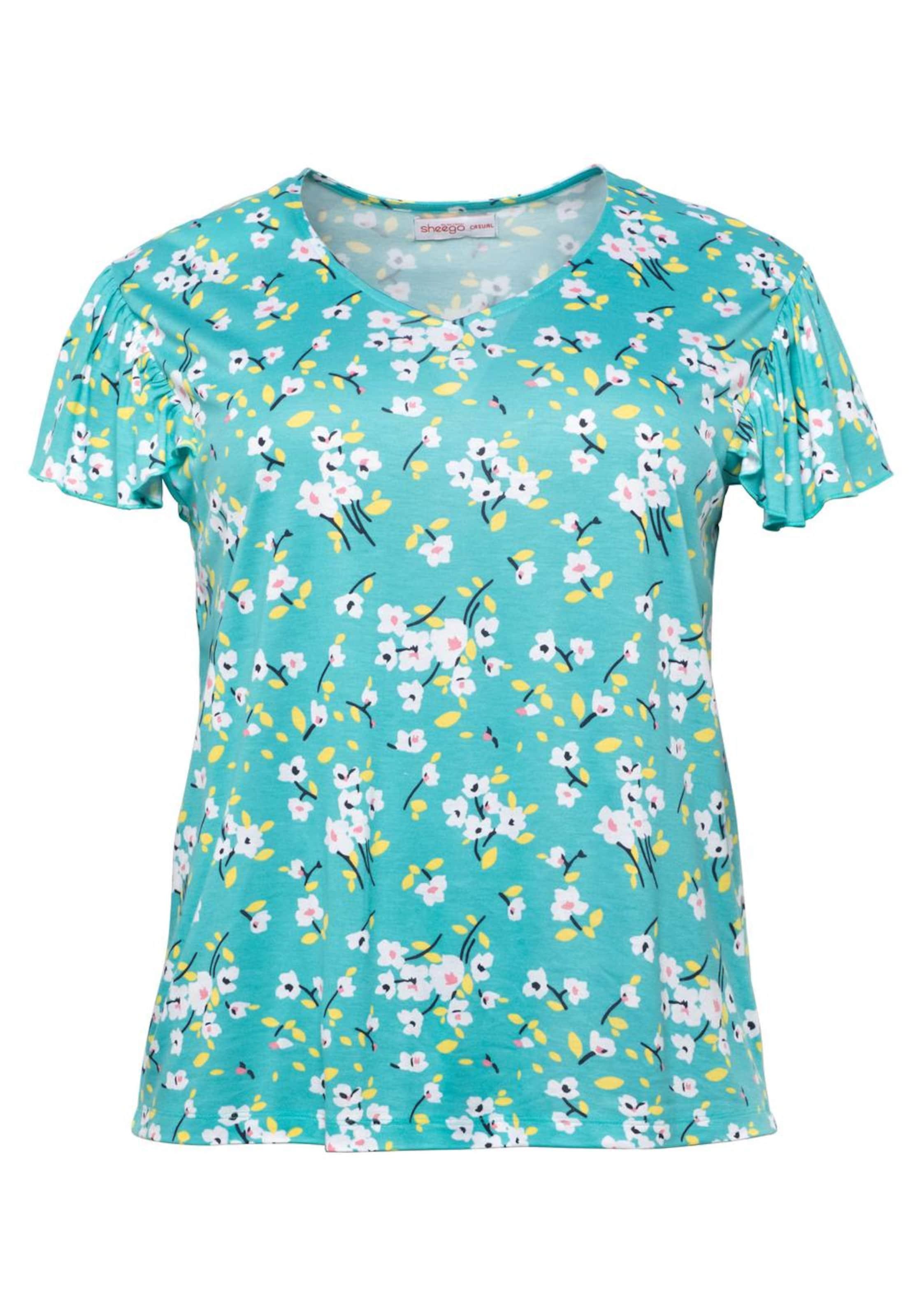 In shirt Sheego TürkisMischfarben T cAL45R3jq