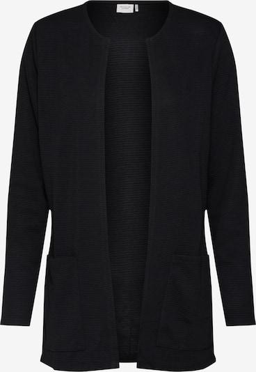 JACQUELINE de YONG Gebreid vest in de kleur Zwart, Productweergave