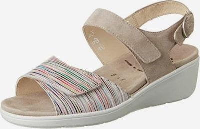 SEMLER Sandale in beige, Produktansicht