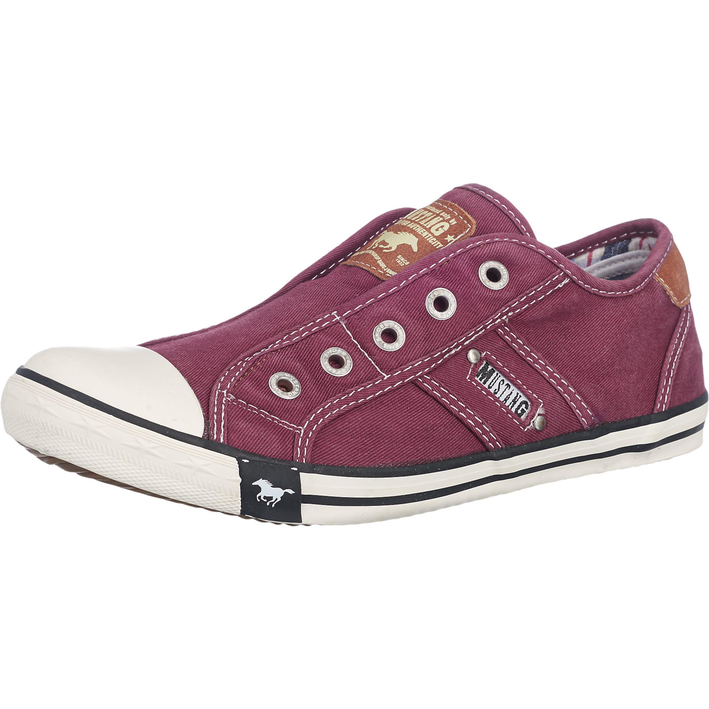 Haltbare Mode billige Schuhe MUSTANG   Sneaker im Slipper-Look Schuhe Gut getragene Schuhe