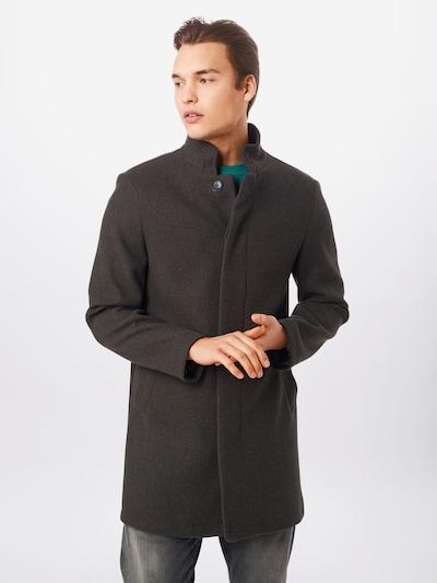 BURTON MENSWEAR LONDON Manteau mi-saison en gris, Vue avec modèle