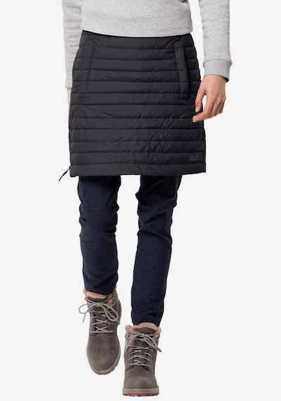 JACK WOLFSKIN Athletic Skorts 'Iceguard' in Black: Frontal view