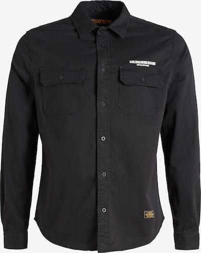 khujo Hemd ' ROGER ' in schwarzmeliert, Produktansicht