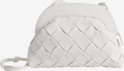 MANGO Torba na ramię w kolorze białym, Podgląd produktu