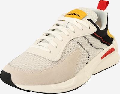 DIESEL Sneakers laag 'SERENDIPITY' in de kleur Beige / Goud / Zwart / Wit, Productweergave