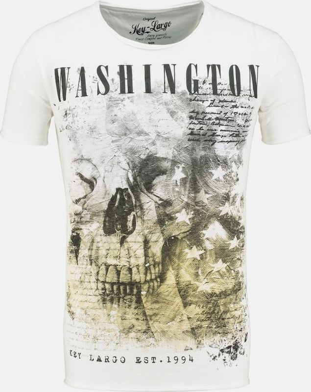 Key Largo T-Shirt 'WASHINGTON'