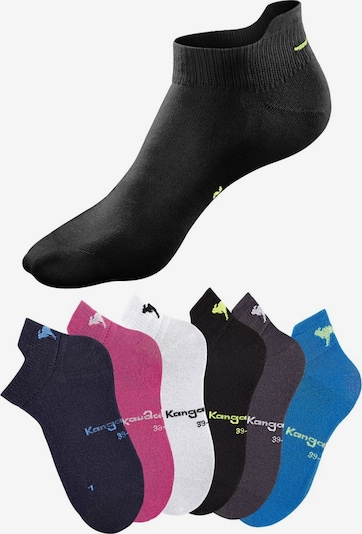 KangaROOS Sneakersocken in pink / schwarz / weiß, Produktansicht