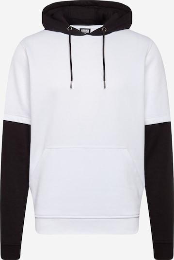 Urban Classics Sweatshirt i sort / hvid, Produktvisning