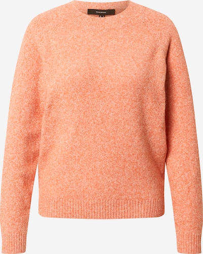 VERO MODA Pull-over 'Doffy' en orange chiné, Vue avec produit