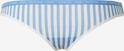 Calvin Klein Underwear String in blau / weiß, Produktansicht