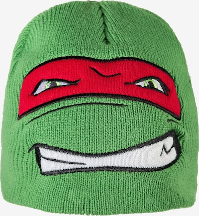 Teenage Mutant Ninja Turtles TEENAGE MUTANT NINJA TURTLES Mütze für Jungen in grün / rot, Produktansicht