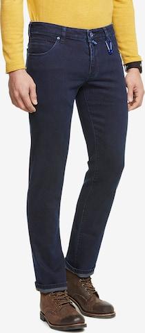 Meyer Hosen 5-Pocket Denim Jeans in Blau