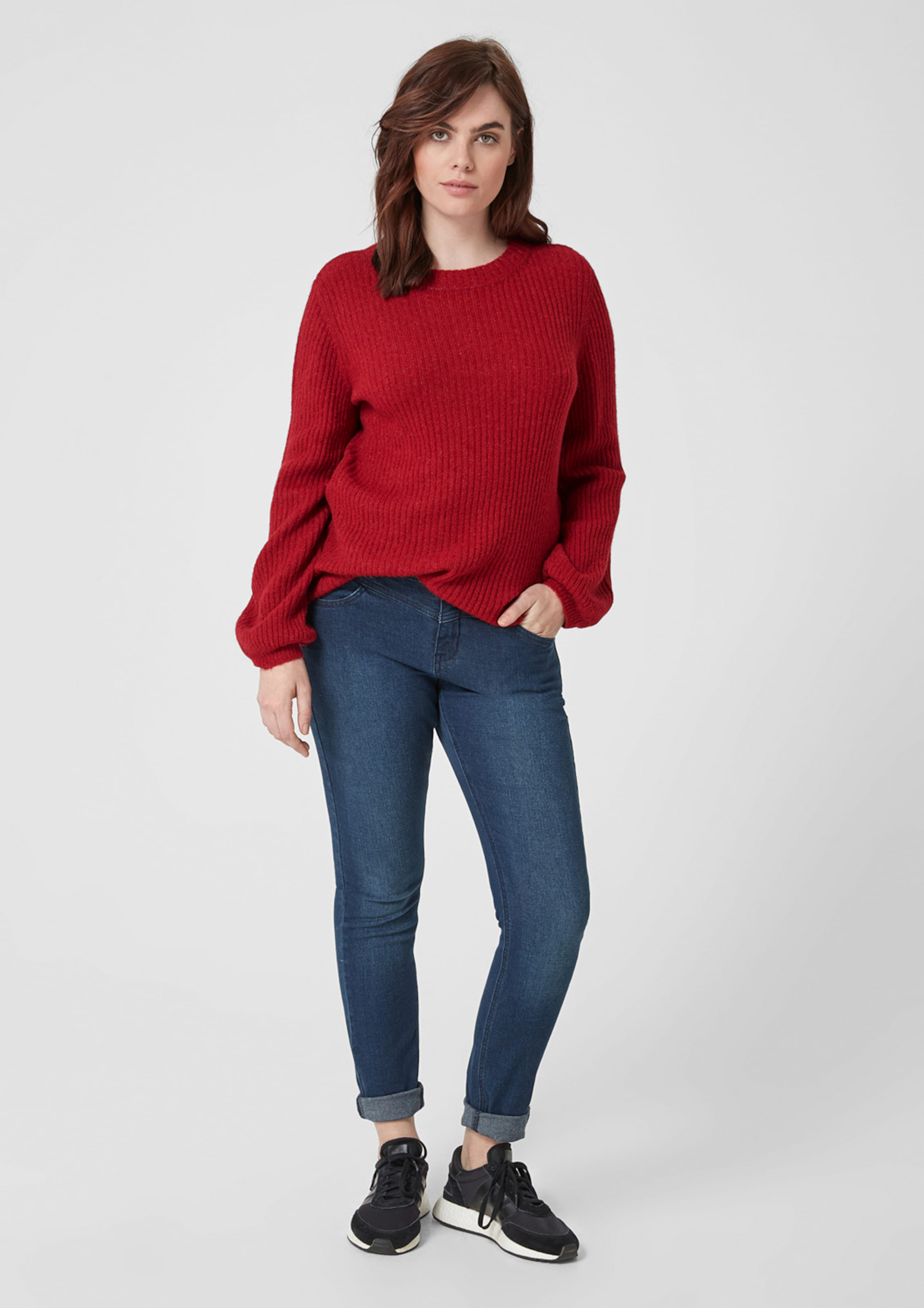 Pullover In Rot Pullover Rot Pullover Triangle Pullover In Rot In Triangle Triangle Triangle In 5Lj34RA