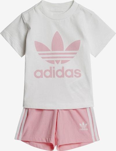 ADIDAS ORIGINALS Set in de kleur Rosa / Wit, Productweergave