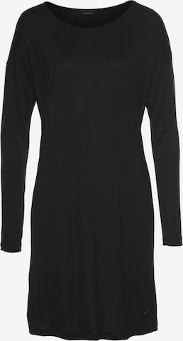 LASCANA Nachthemd in Schwarz