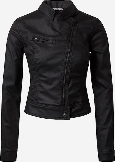 LTB Bikerjacke 'Ellen' in black denim, Produktansicht