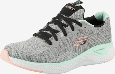 SKECHERS Sneaker 'Solar Fuse Brisk Escape' in graumeliert / jade / koralle, Produktansicht