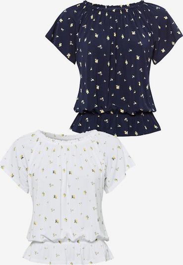 VIVANCE T-shirt i blå / vit, Produktvy