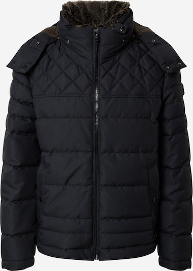 STRELLSON Zimska jakna 'Asola' u noćno plava / tamno smeđa, Pregled proizvoda