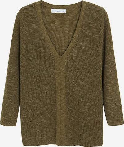 MANGO Pullover saeta in khaki, Produktansicht