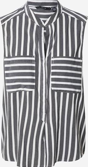 VERO MODA Shirt 'Erika' in schwarz / weiß, Produktansicht