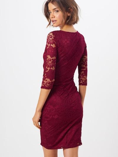 Dorothy Perkins Sukienka 'WRAP' w kolorze czerwonym: Widok od tyłu