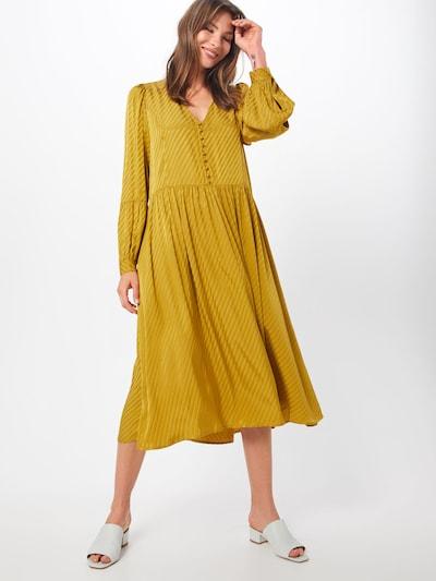 JUST FEMALE Kleid 'Magna' in gelb, Modelansicht