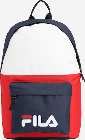 FILA Rucksack 'S'cool Two' in navy / rot / weiß, Produktansicht