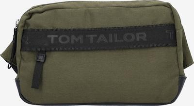 TOM TAILOR Gürteltasche in oliv / schwarz, Produktansicht